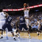 No. 9 UNC Rides Jackson's Hot Hand to Victory Over Monmouth