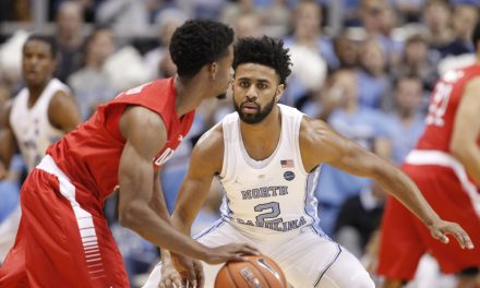 Berry Sprains Ankle as No. 3 UNC Thrashes Radford 95-50