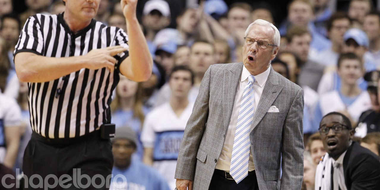 UNC Falls to No. 8 in AP Poll After Loss to Kentucky