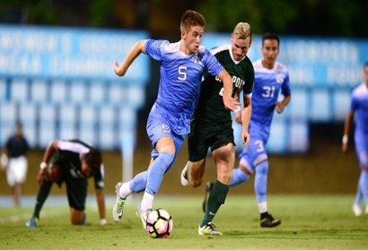 UNC Midfielder Cam Lindley Named National Freshman of the Year
