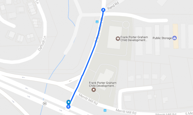 Traffic Shift Set for Carrboro Pipe Installation