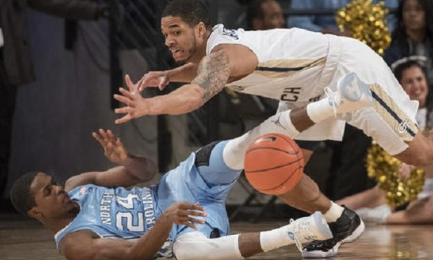Georgia Tech Stuns Lifeless Tar Heels in ACC Opener