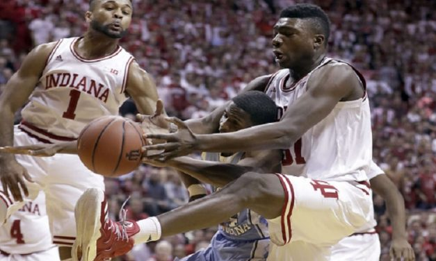Indiana Rolls Past No. 3 UNC 76-67, Hands Tar Heels First Loss of Season