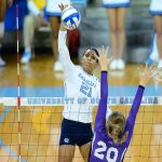 Tar Heels Rally Past Coastal Carolina, Advance to NCAA Volleyball Sweet 16