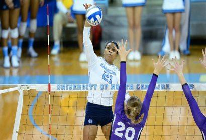 Tar Heels Rally Past Coastal Carolina, Advance to NCAA Volleyball Sweet 16