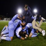 Murphy's Overtime Game-Winner Sends UNC Men's Soccer to Final Four