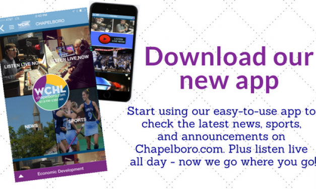 Download Our New Chapelboro Mobile App
