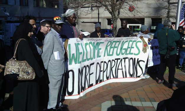 """We Are Ready To Fight"": Durham Rallies For Refugees"