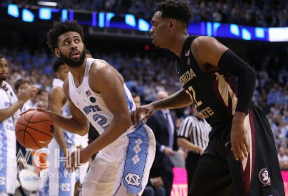 ACC Tabs Joel Berry as Player of the Week for Fourth Time in 2016-17