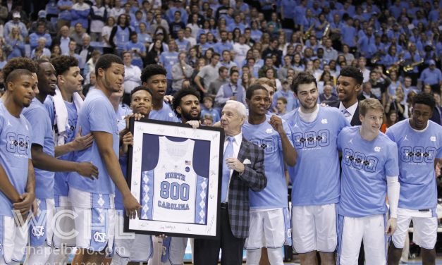 Roy Williams Notches 800th Career Win as No. 9 UNC Pounds Syracuse 85-68