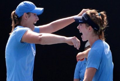 Women's Tennis: UNC's Hayley Carter and Jessie Aney Named ACC Co-Players of the Week