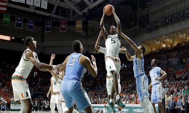Miami Pulls Off Stunning Double-Digit Victory, as No. 9 UNC Stumbles on the Road
