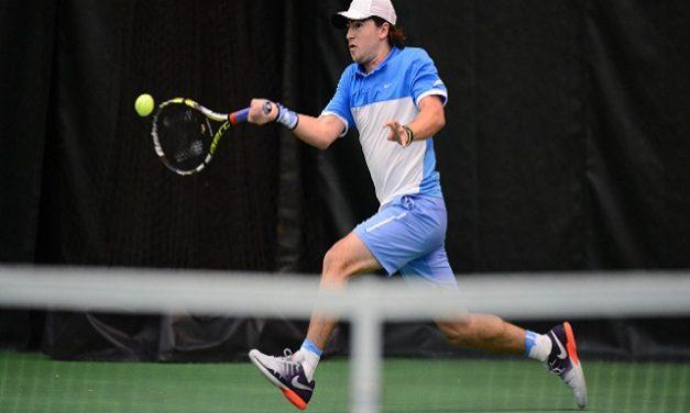 UNC Men's Tennis Advances to ITA Team Indoor Championships