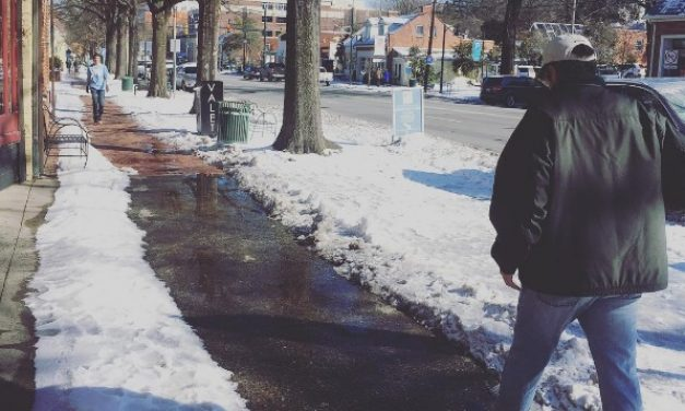 Sidewalk Snow Prompts Policy Augmentations in Chapel Hill and Carrboro