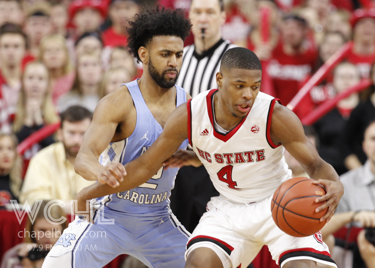 Point guards Joel Berry and Dennis Smith Jr. each led their respective teams in scoring on Wednesday