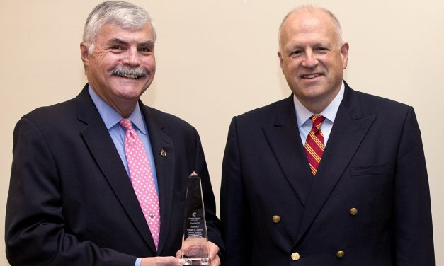 Durham Tech President Wins Award from Campus Compact