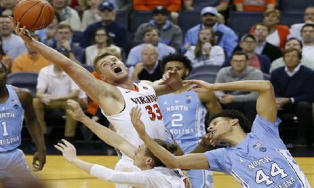 No. 23 Virginia Upsets No. 5 UNC, Holds Tar Heels to Lowest Point Total in Roy Williams Era