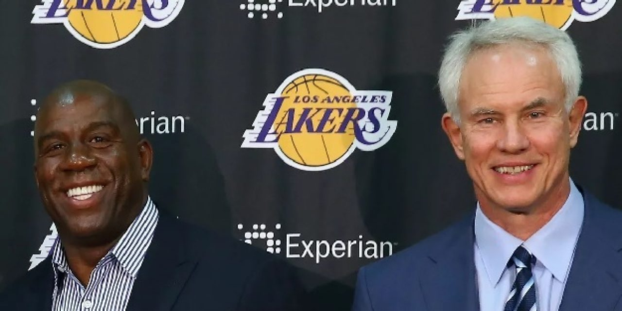 Former Tar Heel Mitch Kupchak Fired as Los Angeles Lakers GM, Replaced by Magic Johnson