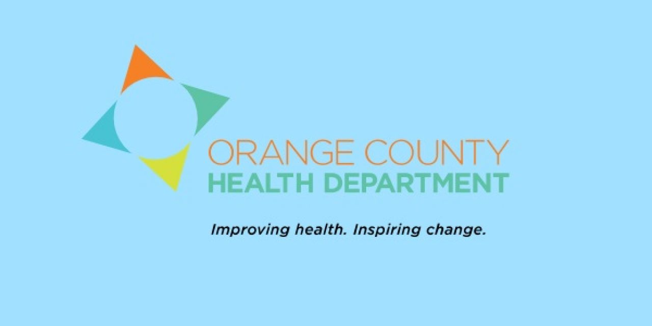 Orange County Health Department Releases Annual Report