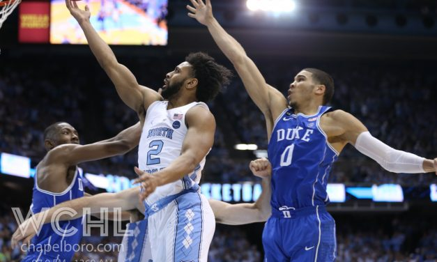 Berry, Hicks Combine to Carry No. 5 UNC Past No. 17 Duke on Senior Night