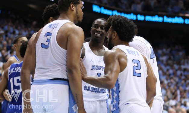 UNC Falls One Spot to No. 6 in AP Top 25