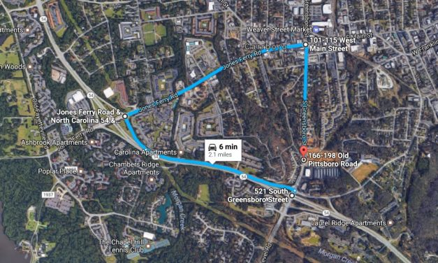 South Greensboro Street Shut Down by NCDOT