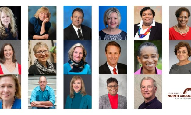 University of North Carolina Honors Select Faculty with Annual Award