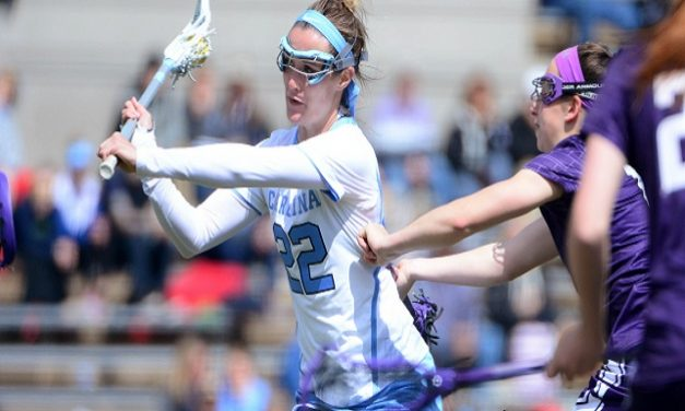 UNC Women's Lacrosse Takes Out No. 13 Northwestern