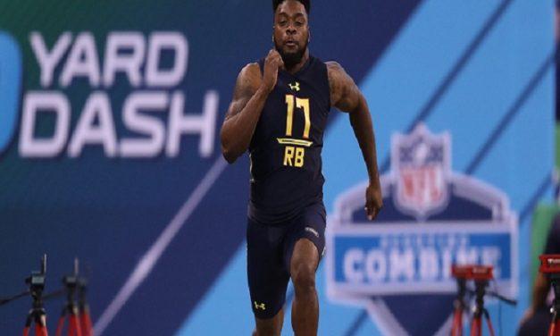 UNC Tailback TJ Logan Runs Fastest 40-Yard Dash Among RBs at the NFL Draft Combine