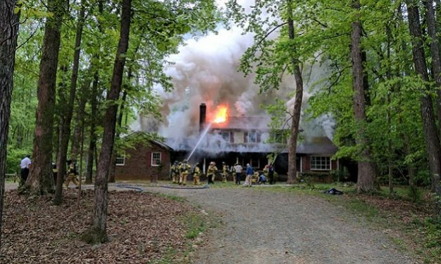 Homestead Road Reopened After House Fire