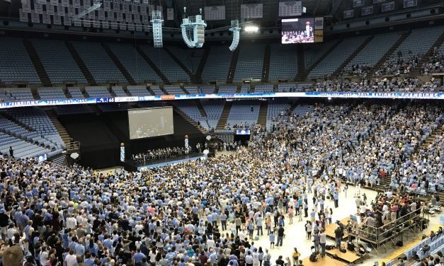 UNC Basketball Team Celebrates Championship With Fans