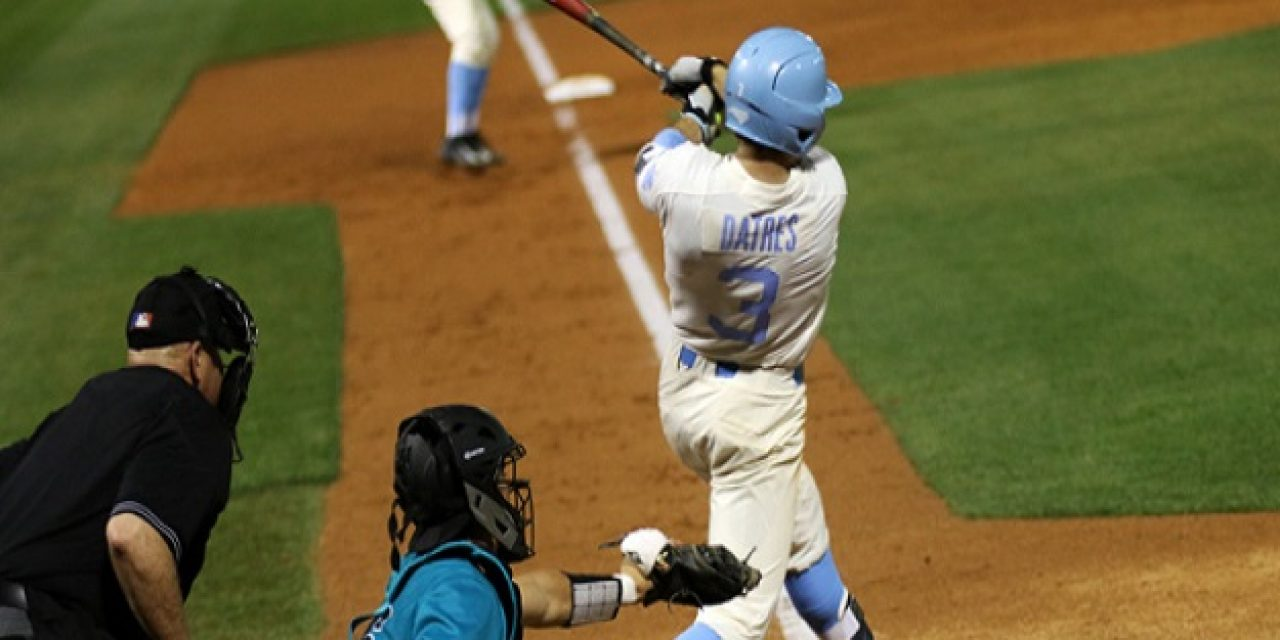 UNC Baseball Demolishes No. 14 South Carolina in Charlotte