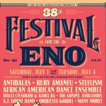 38th Annual Festival for the Eno to Be Held July 1 and 4
