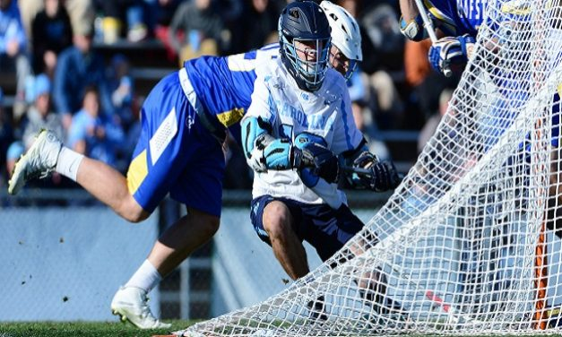 Men's Lacrosse: Albany Holds Off Furious UNC Comeback, Sends Tar Heels Packing in NCAA First Round
