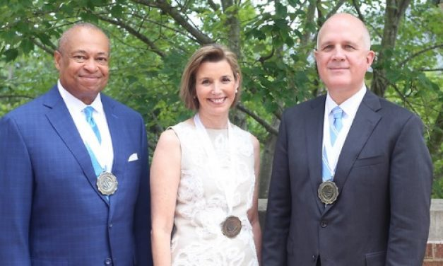 Alumni Service Medals Awarded to Three UNC-Chapel Hill Benefactors