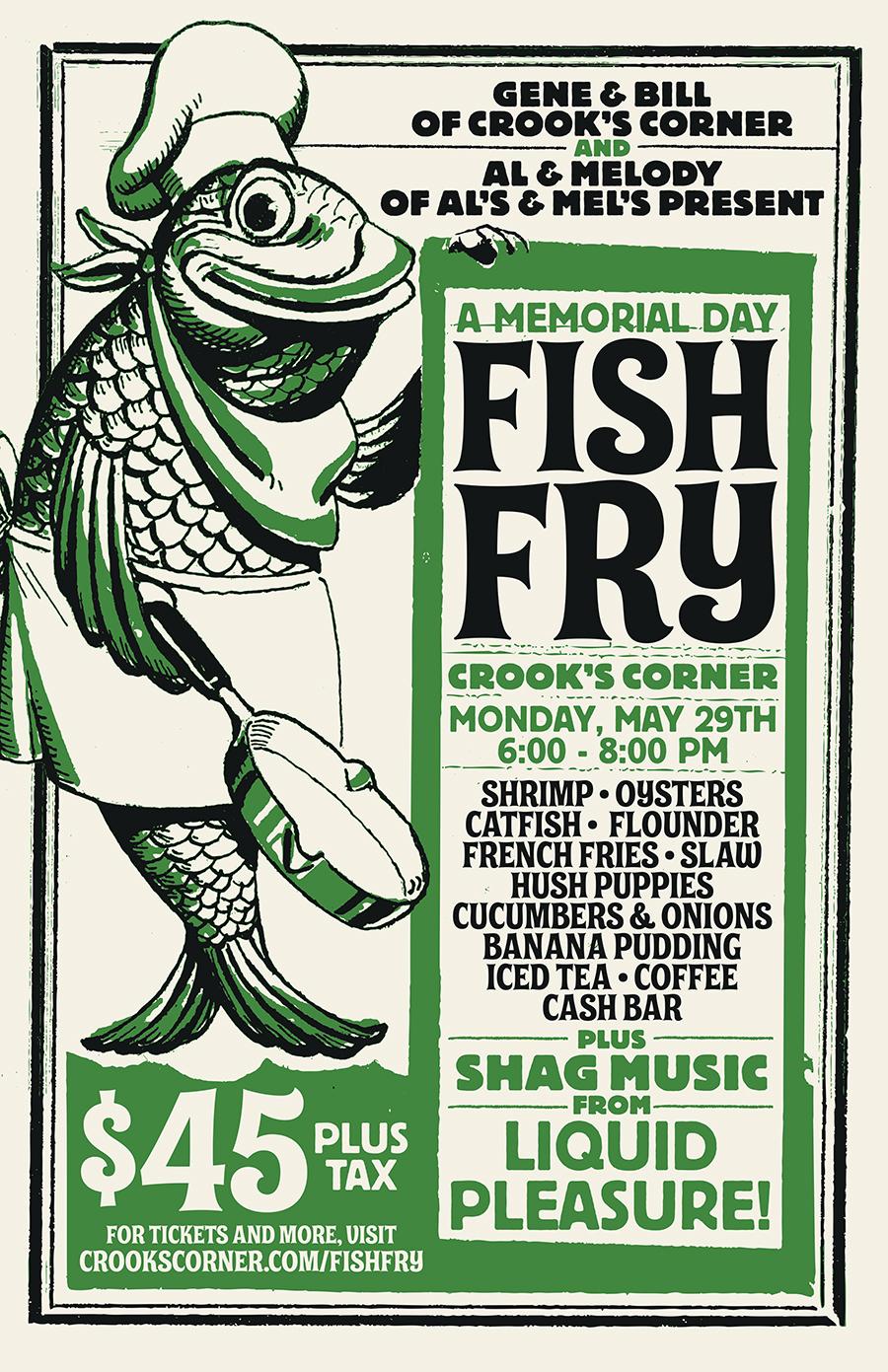 Memorial day fish fry for Carolina fish fry