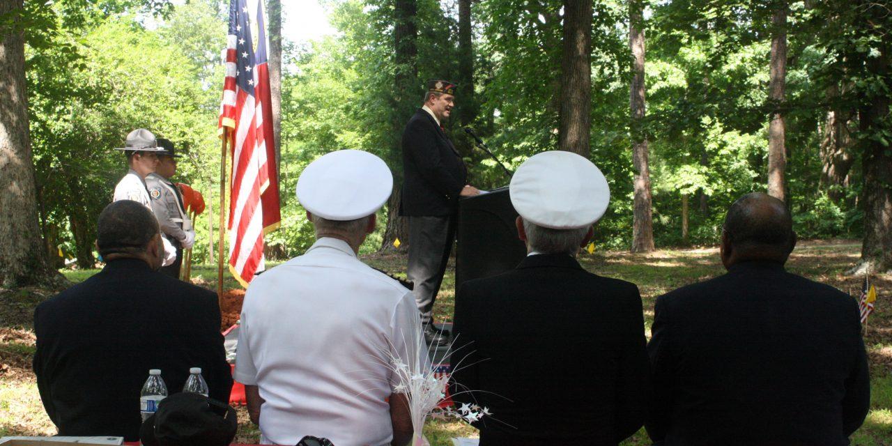 Groundbreaking Ceremony Held in Chapel Hill for Orange County Veterans Memorial