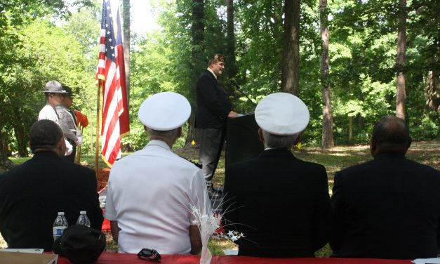 Groundbreaking Ceremony Held in Chapel Hill for Orange County Veterans Memorial