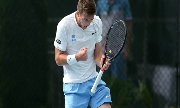 Victory Over South Carolina Moves UNC Men's Tennis Into NCAA Sweet 16