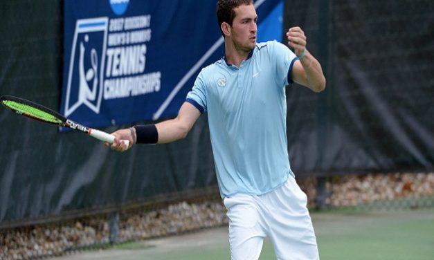 UNC Men's Tennis Rolls Past VCU in NCAA Tournament First Round