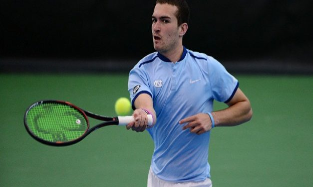 William Blumberg Named ACC Men's Tennis Freshman of the Year, Three Tar Heels Named to All-ACC Roster