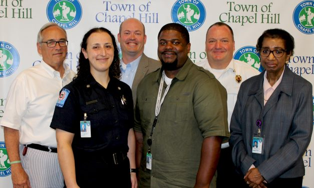 Chapel Hill Awards Top Honor to Two Employees