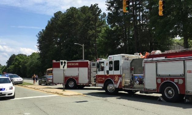 CHCCS Bus Involved in Wreck