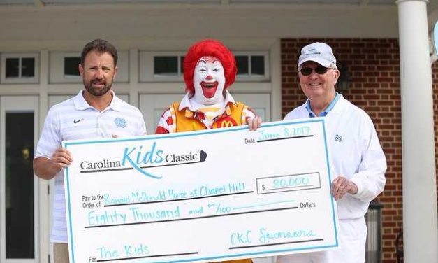 Carolina Kids Classic Golf Tournament Raises $80,000 for Ronald McDonald House