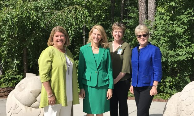 NC First Lady Announces Grants at Chapel Hill Public Library