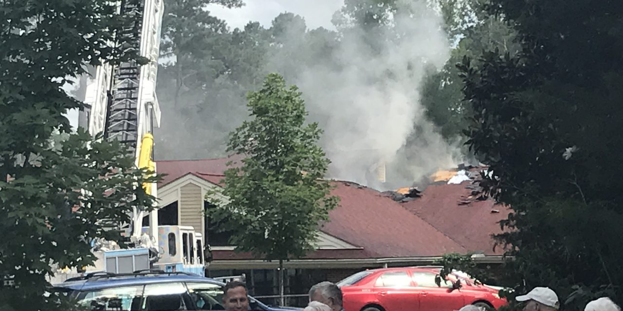 Three-Alarm Fire at Carol Woods