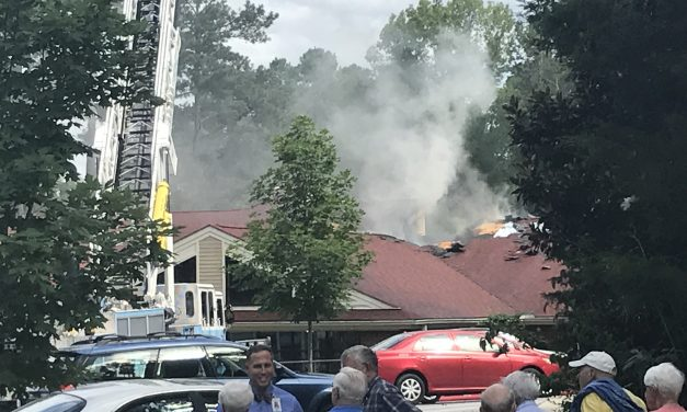 Three-Alarm Fire at Carol Woods