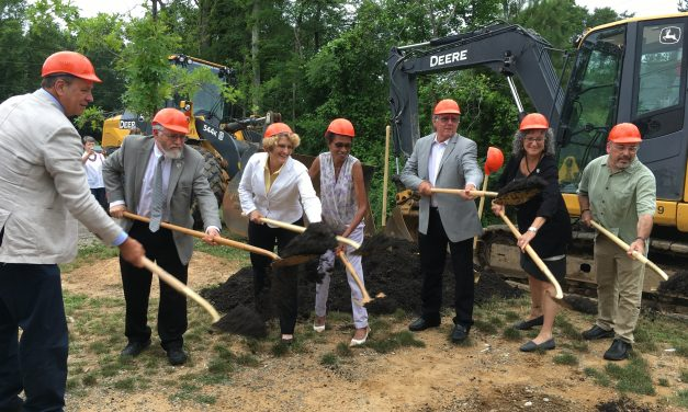 Completion of Rogers Road Sewer Project Drawing Celebration Monday