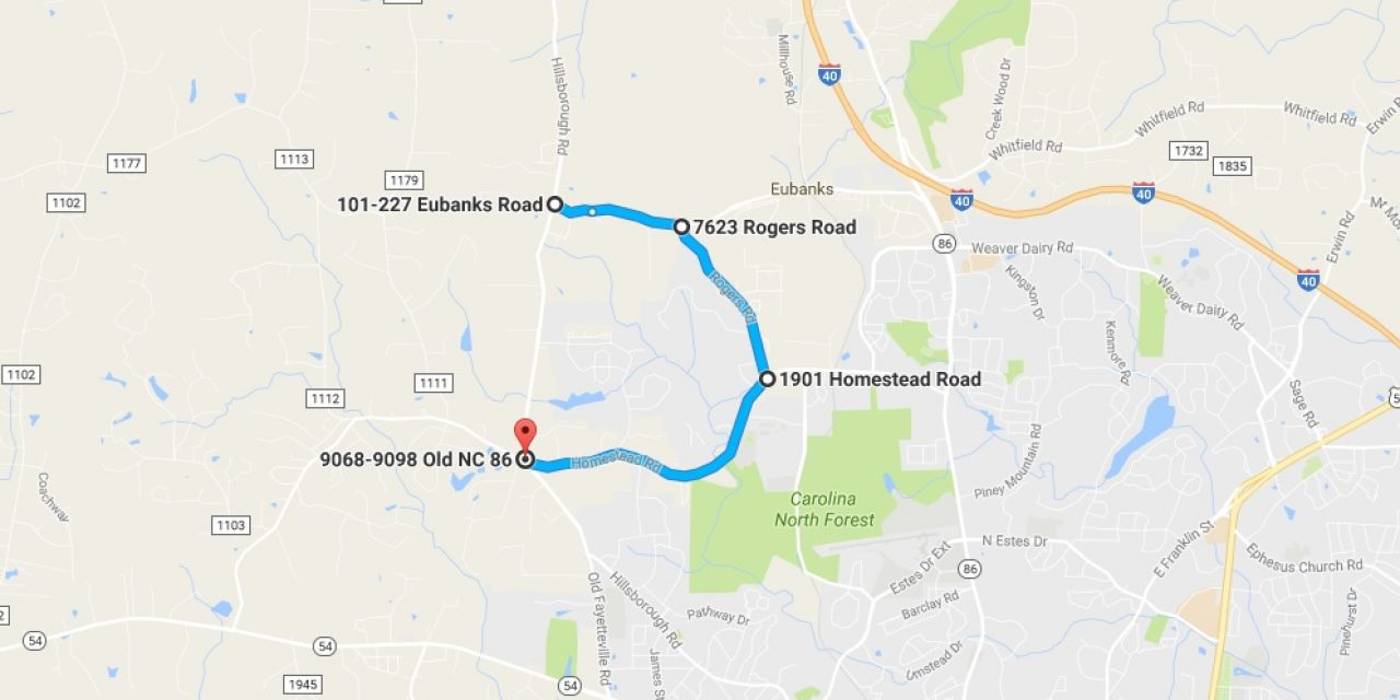 Detour On Old Nc 86 Slows Traffic Between Carrboro And Hillsborough