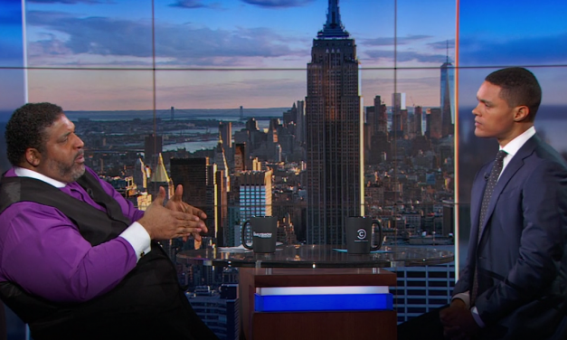 Rev. William Barber Makes Appearance on 'The Daily Show'